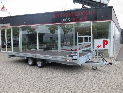 Proline autotransporter 500x200cm 2700kg autotransporters Aanhangwagens XXL West Brabant hoofd
