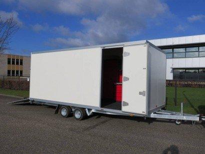 Proline gesloten 545x244x210cm 3000kg gesloten aanhangwagens Aanhangwagens XXL West Brabant hoofd