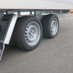 Proline lesaanhangwagen gesloten opbouw