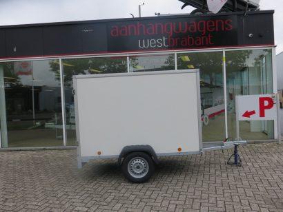 Easyline gesloten aanhanger 200x100x125cm 750kg Aanhangwagens XXL West Brabant hoofd