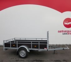 Loady enkelas aanhanger 250x130cm 750kg Aanhangwagens XXL West Brabant 2.0 hoofd Aanhangwagens XXL West Brabant