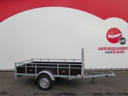 Loady enkelas aanhanger 250x130cm 750kg Aanhangwagens XXL West Brabant 2.0 hoofd
