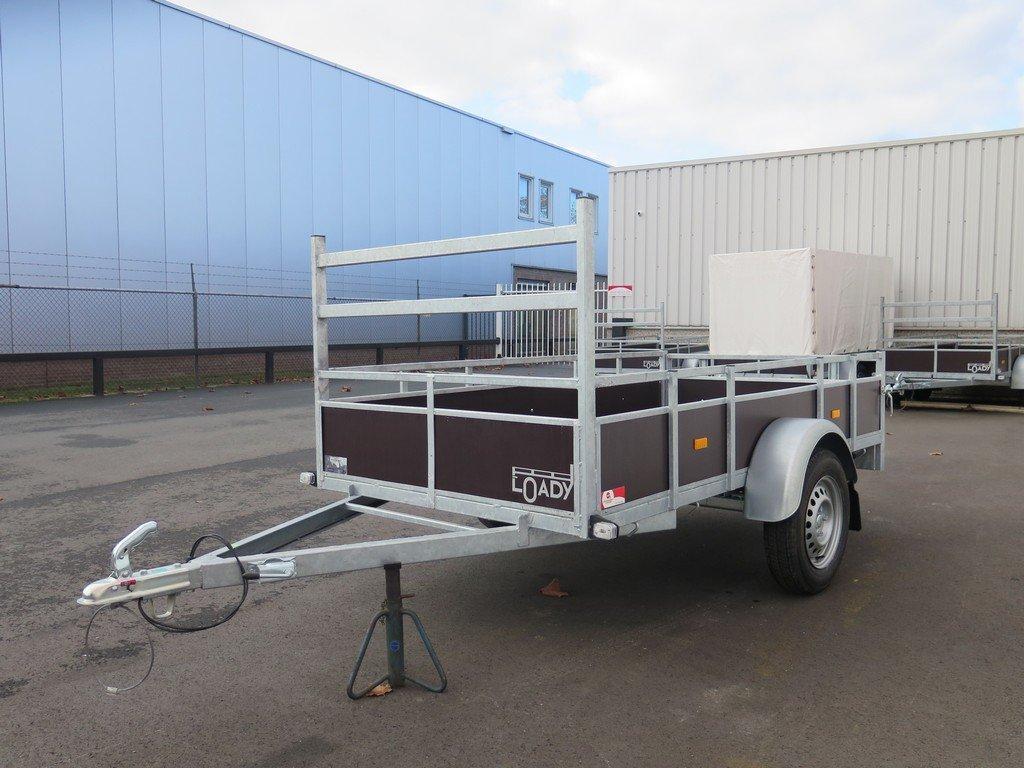 Loady enkelas aanhanger 250x130cm 750kg Aanhangwagens XXL West Brabant 2.0 overzicht Aanhangwagens XXL West Brabant
