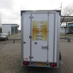 Proline maatwerk verkoopwagen 303x150x200cm 2500kg speciaalbouw Aanhangwagens XXL West Brabant achterkant gesloten