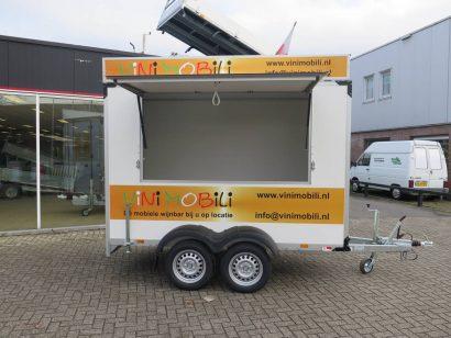 Proline maatwerk verkoopwagen 303x150x200cm 2500kg speciaalbouw Aanhangwagens XXL West Brabant hoofd