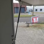 Proline maatwerk verkoopwagen 303x150x200cm 2500kg speciaalbouw Aanhangwagens XXL West Brabant klep Aanhangwagens XXL West Brabant