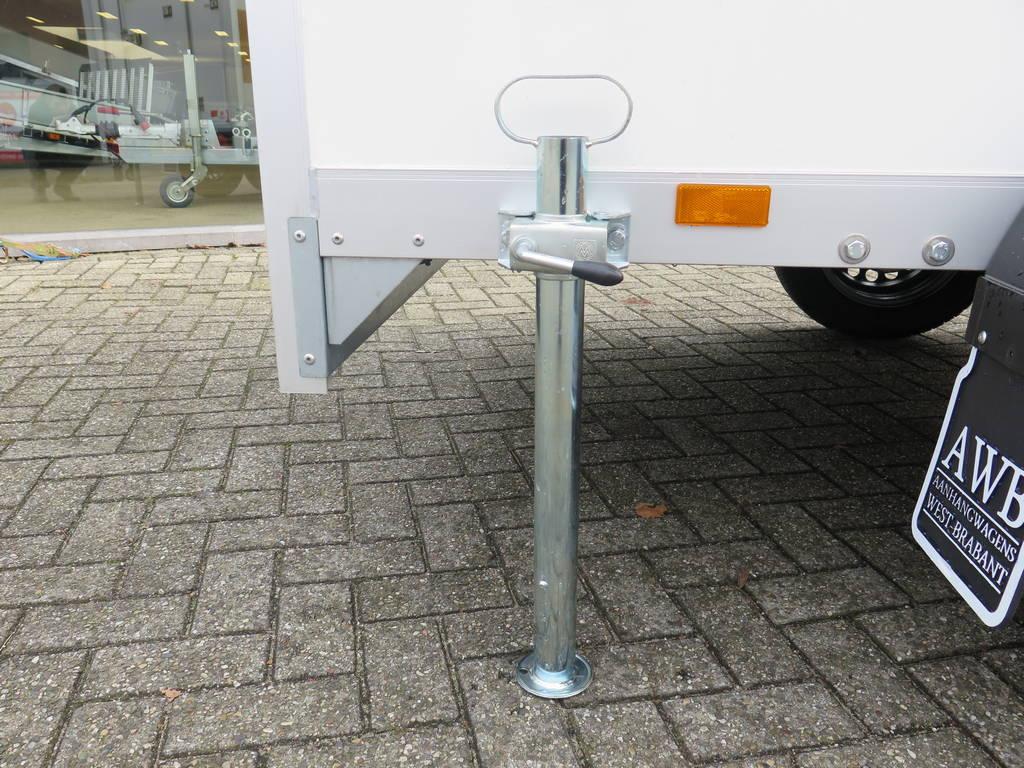 Proline maatwerk verkoopwagen 303x150x200cm 2500kg speciaalbouw Aanhangwagens XXL West Brabant steunpoot