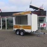 Proline maatwerk verkoopwagen 303x150x200cm 2500kg speciaalbouw Aanhangwagens XXL West Brabant zijkant open Aanhangwagens XXL West Brabant