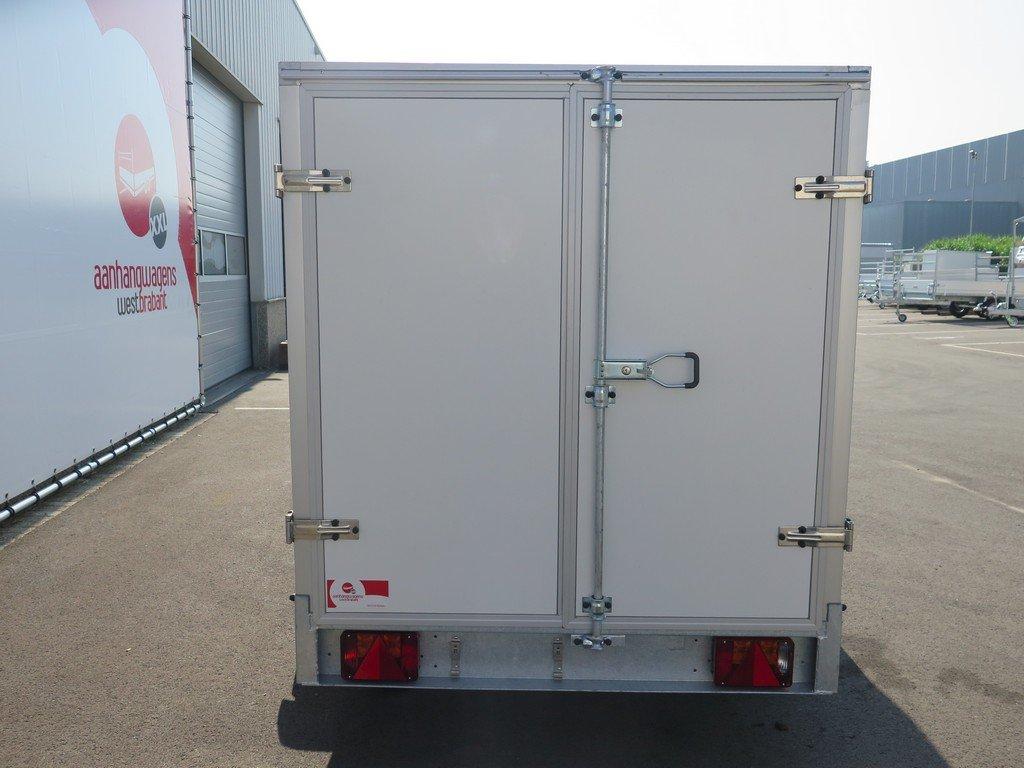 Easyline gesloten aanhanger 300x150x150cm 750kg Aanhangwagens XXL West Brabant achter dicht Aanhangwagens XXL West Brabant