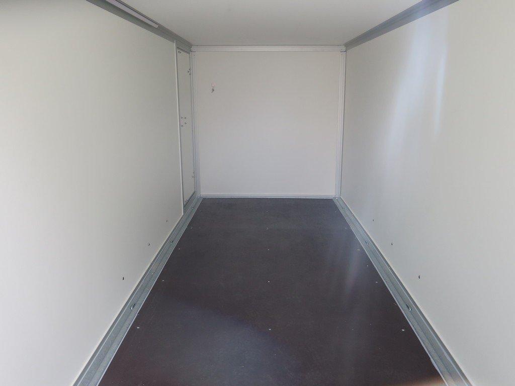 Easyline gesloten ballonwagen 350x140x145cm 1500kg speciaalbouw Aanhangwagens XXL West Brabant binnenkant