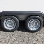 Easyline gesloten ballonwagen 350x140x145cm 1500kg speciaalbouw Aanhangwagens XXL West Brabant dubbelas