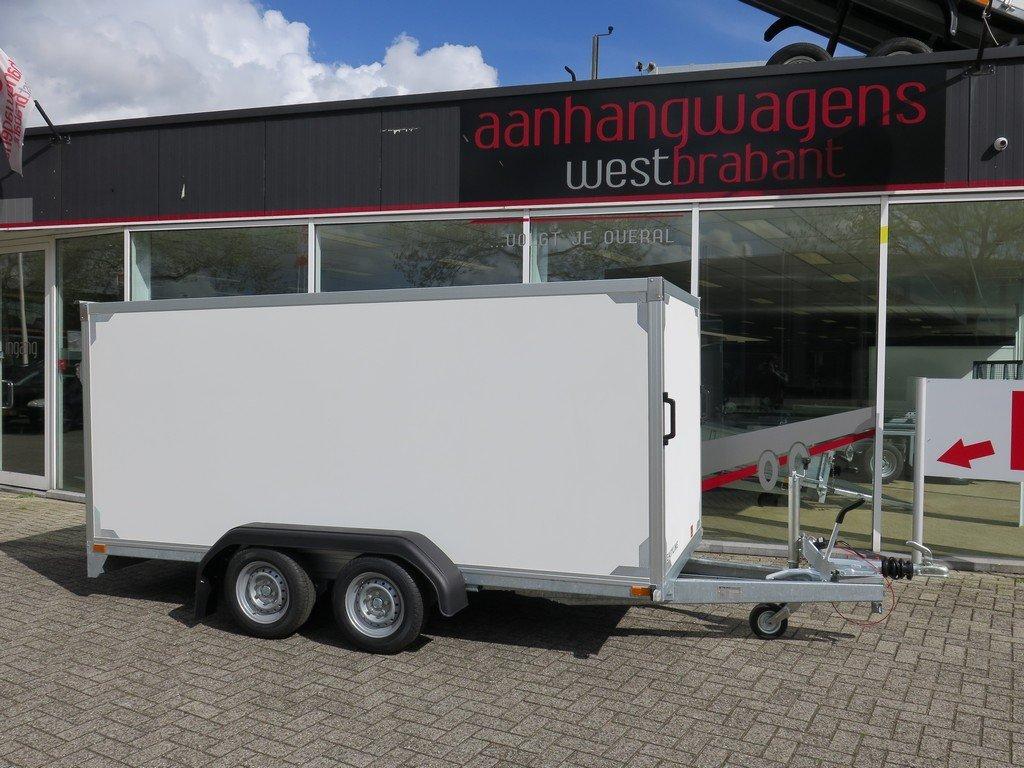 Easyline gesloten ballonwagen 350x140x145cm 1500kg speciaalbouw Aanhangwagens XXL West Brabant hoofd