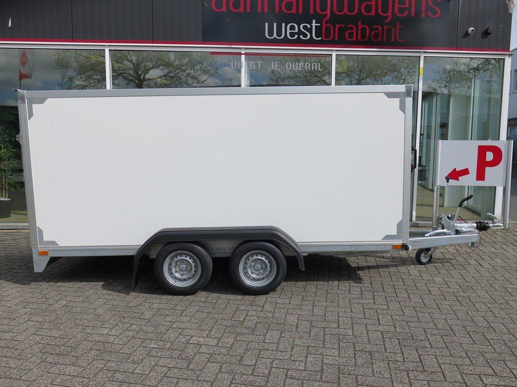 Easyline gesloten ballonwagen 350x140x145cm 1500kg speciaalbouw Aanhangwagens XXL West Brabant overzicht