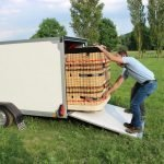 Easyline gesloten ballonwagen 350x140x145cm 1500kg speciaalbouw Aanhangwagens XXL West Brabant praktijk