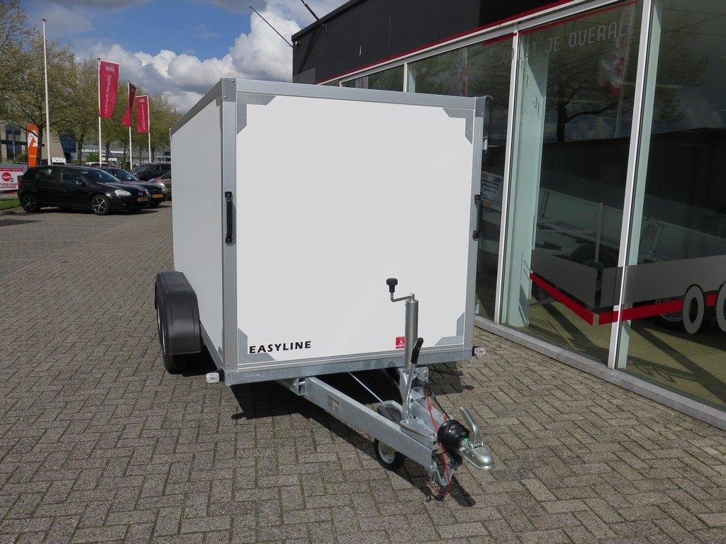 Easyline gesloten ballonwagen 350x140x145cm 1500kg speciaalbouw Aanhangwagens XXL West Brabant schuin