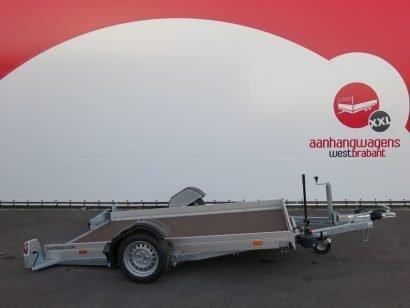 Humbaur machinetransporter 280x175cm 1350kg Aanhangwagens XXL West Brabant 2.0 hoofd
