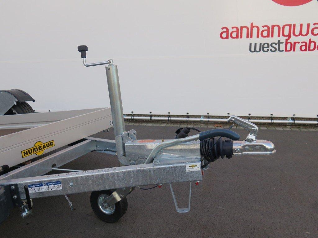 Humbaur motortrailer 280x175cm 1350kg zakbaar Humbaur motortrailer 280x175cm 1350kg zakbaar Aanhangwagens XXL West Brabant 2.0 dissel