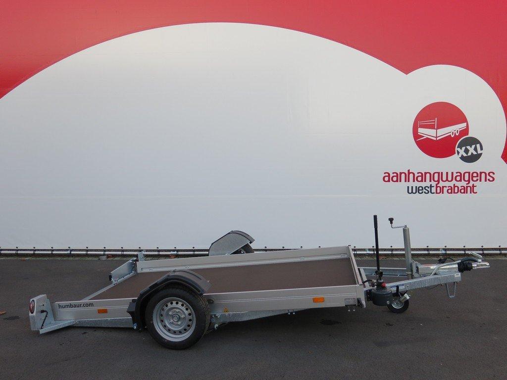 Humbaur motortrailer 280x175cm 1350kg zakbaar Humbaur motortrailer 280x175cm 1350kg zakbaar Aanhangwagens XXL West Brabant 2.0 hoofd