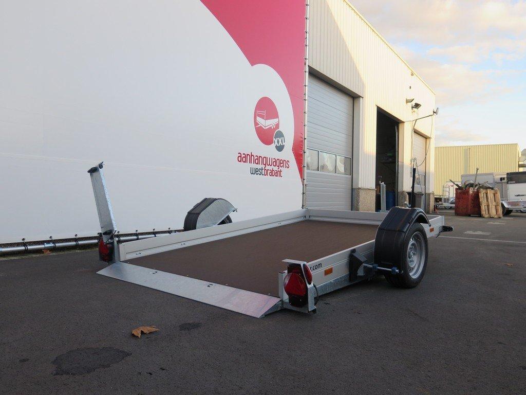 Humbaur motortrailer 280x175cm 1350kg zakbaar Humbaur motortrailer 280x175cm 1350kg zakbaar Aanhangwagens XXL West Brabant 2.0 oprijhoogte