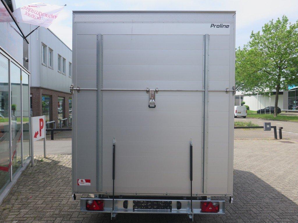 Proline bloemenwagen 425x204x230cm 2600kg Aanhangwagens XXL West Brabant achterkant dicht