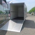 Proline bloemenwagen 425x204x230cm 2600kg Aanhangwagens XXL West Brabant achterkant open