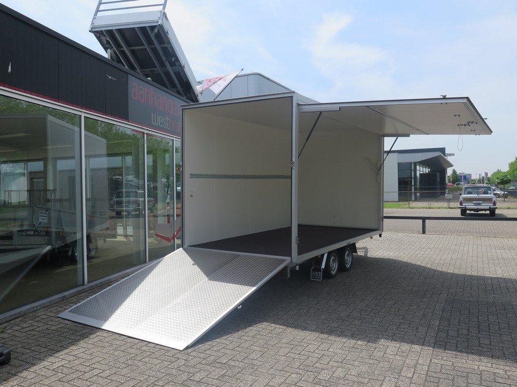 Proline bloemenwagen 425x204x230cm 2600kg Aanhangwagens XXL West Brabant volledig open