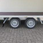 Proline gesloten aanhanger 425x204x230cm 2600kg Aanhangwagens XXL West Brabant dubbele as