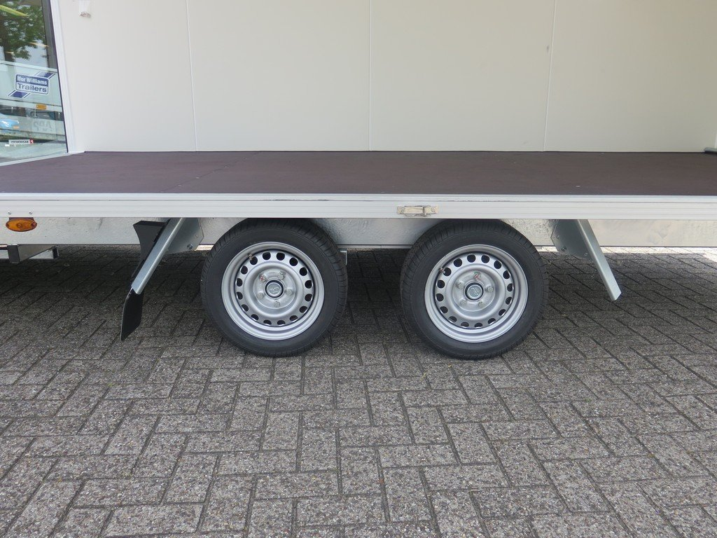Proline gesloten aanhanger 425x204x230cm 2600kg Aanhangwagens XXL West Brabant dubbele as Aanhangwagens XXL West Brabant