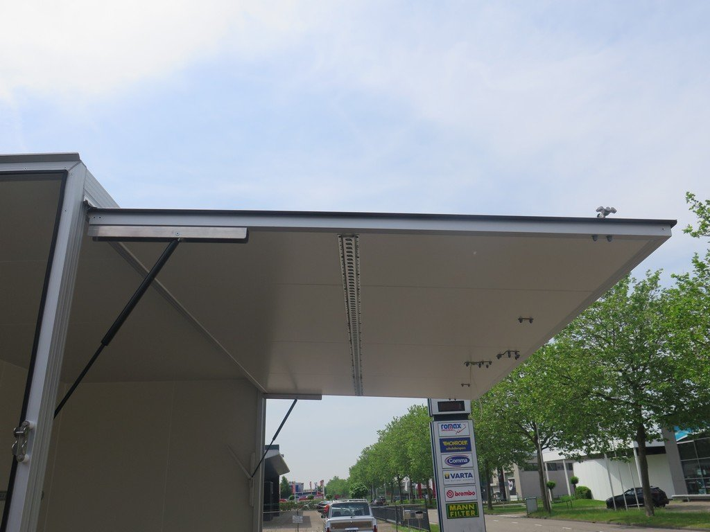 Proline gesloten aanhanger 425x204x230cm 2600kg Aanhangwagens XXL West Brabant zijklep