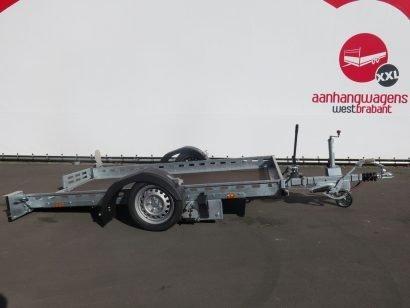 Proline machinetransporter 260x155cm 1400kg kantelbaar Aanhangwagens XXL West Brabant 3.0 hoofd