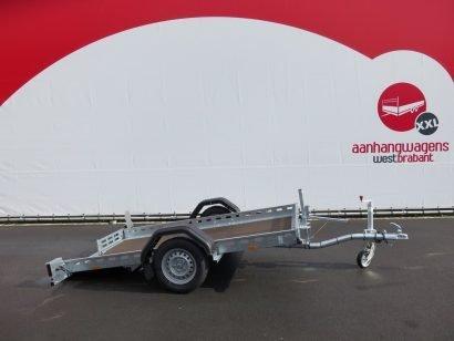 Proline machinetransporter 260x155cm 750kg kantelbaar Aanhangwagens XXL West Brabant 2.0 hoofd