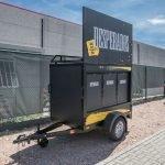 Maatwerk Easyline gesloten evenementenwagen Aanhangwagens XXL West Brabant hoofd