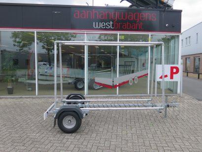 Sit reclameaanhangwagen 325x158cm 750kg 2017 Aanhangwagens XXL West Brabant tweedehands hoofd