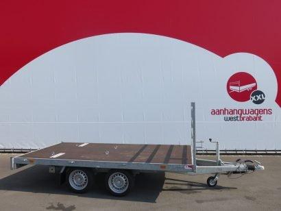 Hapert plateauwagen 330x180cm 2700kg 2009 Aanhangwagens XXL West Brabant tweedehands hoofd