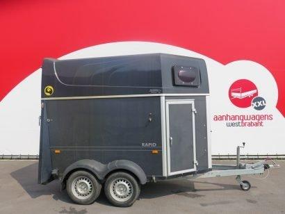 Humbaur 2 paards paardentrailer 2012 Aanhangwagens XXL West Brabant tweedehands hoofd