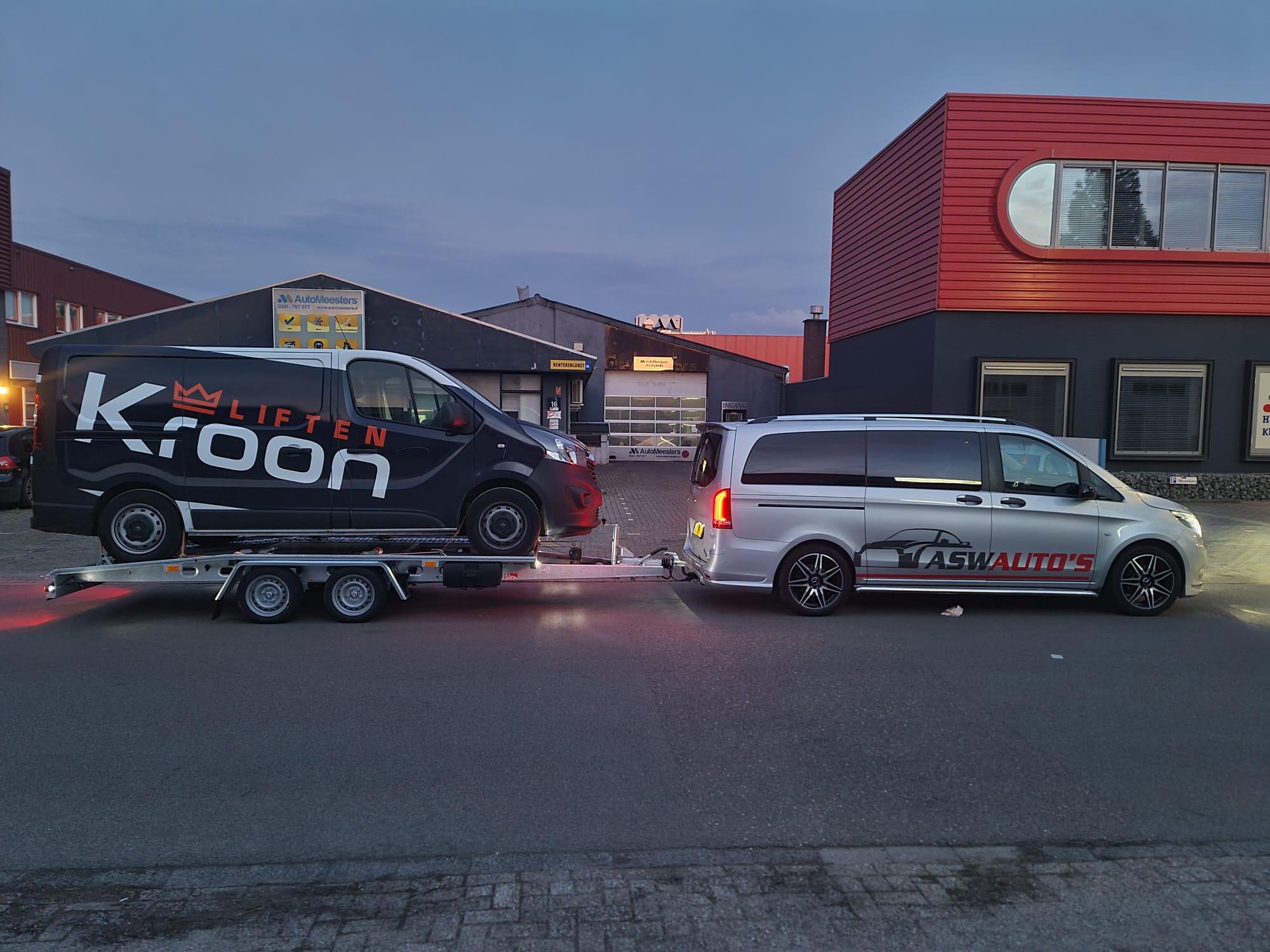 Proline Transporto autotransporter 400x205cm 2850kg