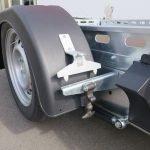 Proline autotransporter 312x180cm 1500kg Aanhangwagens XXL West Brabant sluiting spatbord Aanhangwagens XXL West Brabant