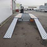 Proline autotransporter 450x210cm 2700kg Aanhangwagens XXL West Brabant achterkant Aanhangwagens XXL West Brabant