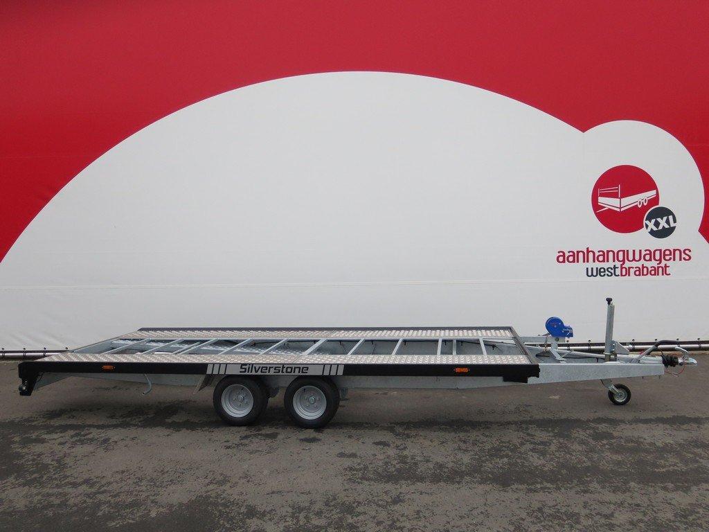 Proline Silverstone autotransporter 450x210cm 2700kg Proline autotransporter 450x210cm 2700kg Aanhangwagens XXL West Brabant hoofd
