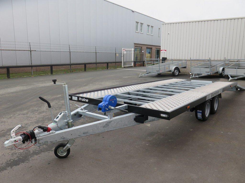 Proline autotransporter 450x210cm 2700kg Aanhangwagens XXL West Brabant overzicht Aanhangwagens XXL West Brabant