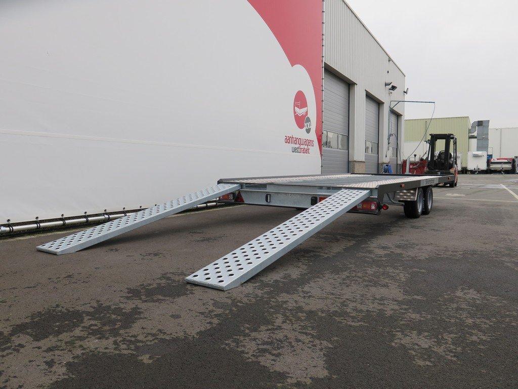 Proline Silverstone autotransporter 450x210cm 2700kg Proline autotransporter 450x210cm 2700kg Aanhangwagens XXL West Brabant rijplaten