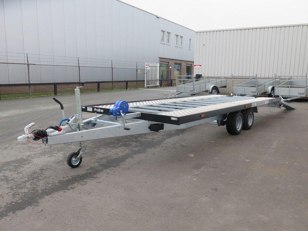 Proline autotransporter 501x210cm 3000kg Aanhangwagens XXL West Brabant 2.0 overzicht Aanhangwagens XXL West Brabant