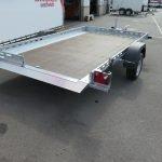 Proline motortrailer 312x180cm 1500kg zakbaar Aanhangwagens XXL West Brabant achter vlak Aanhangwagens XXL West Brabant