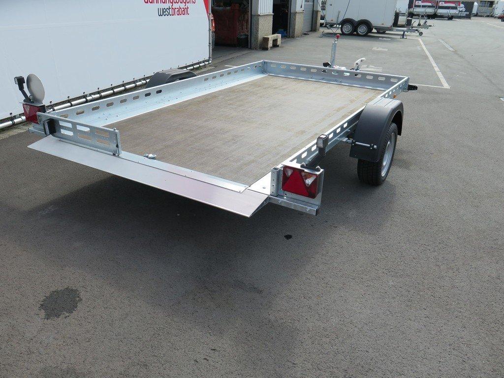 Proline motortrailer 312x180cm 1500kg zakbaar Proline motortrailer 312x180cm 1500kg zakbaar Aanhangwagens XXL West Brabant achter vlak