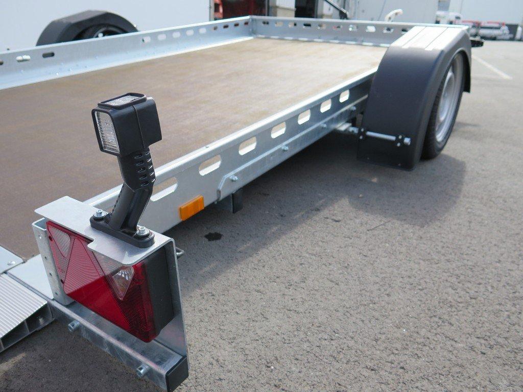 Proline motortrailer 312x180cm 1500kg zakbaar Aanhangwagens XXL West Brabant bindreling Aanhangwagens XXL West Brabant