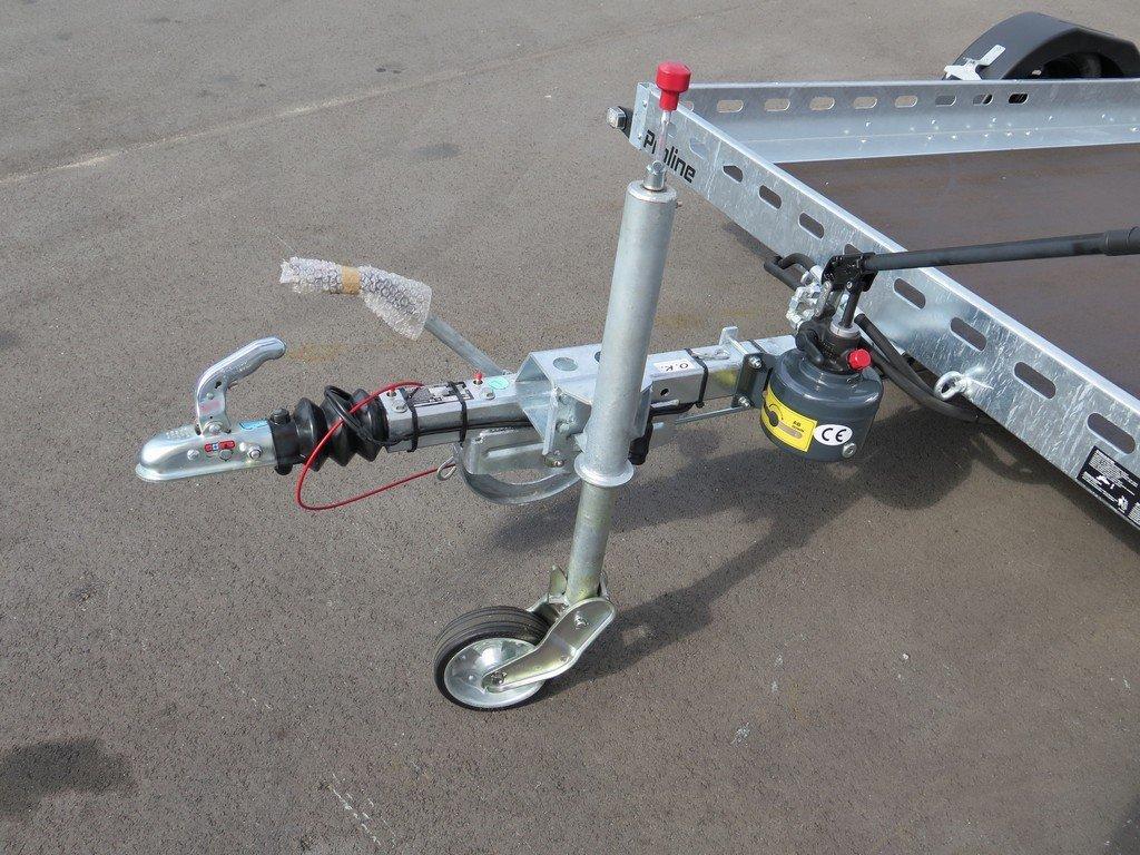 Proline motortrailer 312x180cm 1500kg zakbaar Proline motortrailer 312x180cm 1500kg zakbaar Aanhangwagens XXL West Brabant dissel