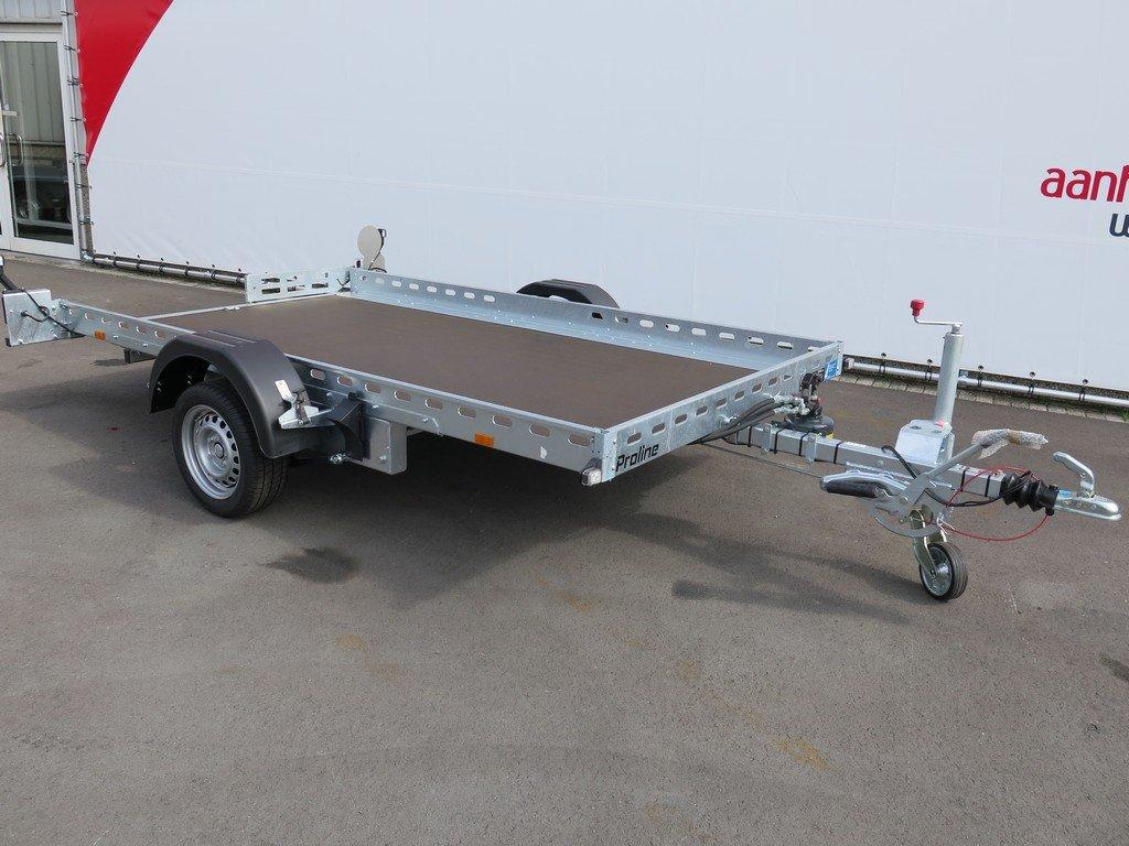 Proline motortrailer 312x180cm 1500kg zakbaar Proline motortrailer 312x180cm 1500kg zakbaar Aanhangwagens XXL West Brabant vlak