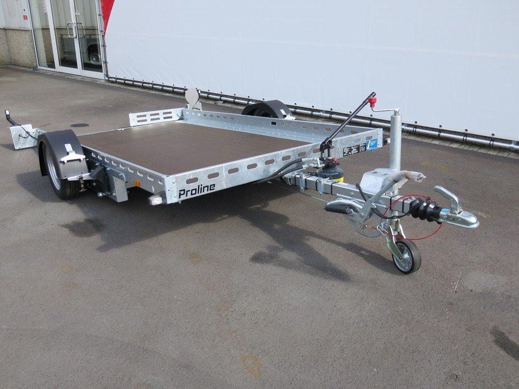 Proline motortrailer 312x180cm 1500kg zakbaar Proline motortrailer 312x180cm 1500kg zakbaar Aanhangwagens XXL West Brabant voorkant
