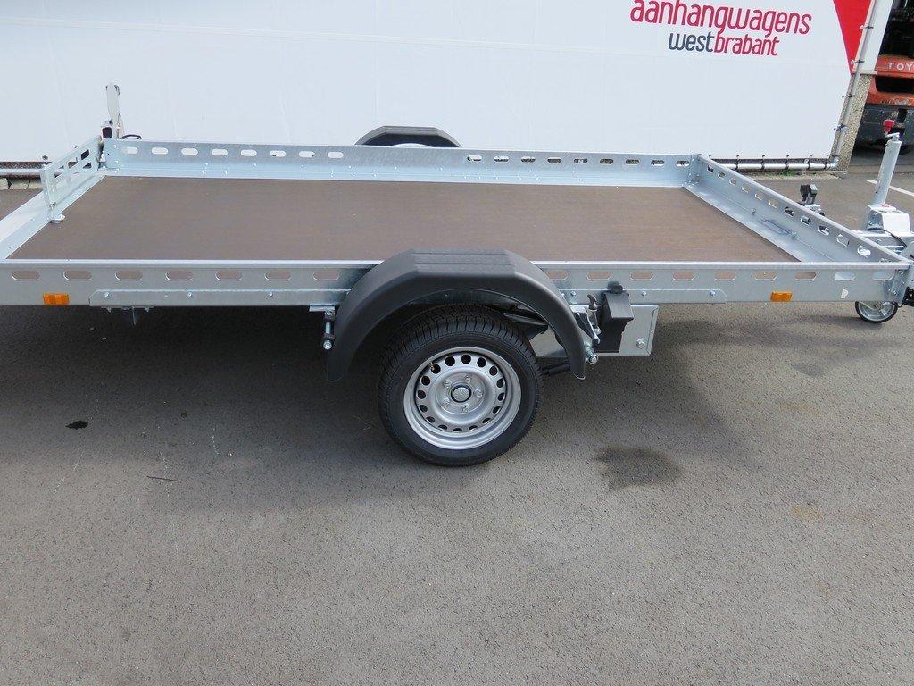 Proline motortrailer 312x180cm 1500kg zakbaar Proline motortrailer 312x180cm 1500kg zakbaar Aanhangwagens XXL West Brabant zijkant