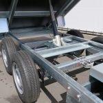 Saris kipper 306x170cm 2700kg eco Aanhangwagens XXL West Brabant kiepcilinder